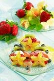 Pincho de la fruta Foto de archivo libre de regalías
