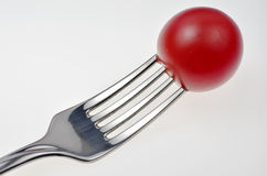 Pincho de tomato Fotografía de archivo