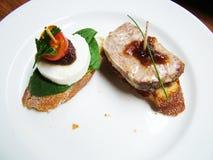 Pinchos spanish cuisine Stock Image
