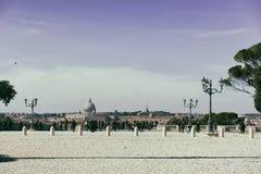 Pincio在罗马 库存图片