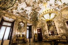 pincipal kunglig sida spain för madrid slott Royaltyfri Fotografi