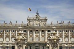 pincipal kunglig sida spain för madrid slott spain Royaltyfri Foto