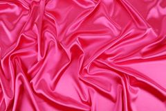 Pinck silk beckground Stock Image