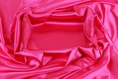 Pink silk beckground. Stock Images