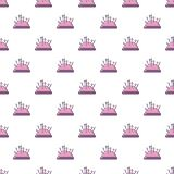 Pincushion pattern seamless Royalty Free Stock Photo
