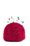 Pincushion with pins Stock Images