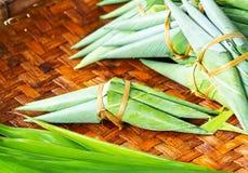 Pinda met kleverige rijst Royalty-vrije Stock Fotografie