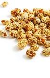 Pinda's in karamel met sesamzaden Royalty-vrije Stock Afbeeldingen