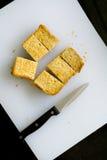 pindakaassandwiches Stock Foto