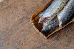 Pindang ikan o rebanadas de pescados del cocinero con las especias foto de archivo libre de regalías