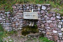 Pindaros фонтана Стоковая Фотография