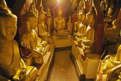 Pindaya Caves stock photo