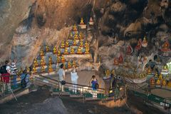 Pindaya Caves Royalty Free Stock Images