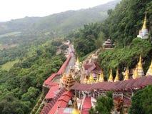 Pindaya del Myanmar (Birmania) Fotografia Stock Libera da Diritti