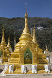 Pindaya Temple - Pindaya - Myanmar (Burma) Stock Photos