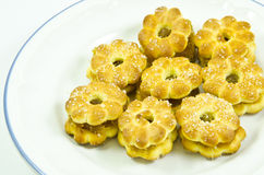 Pine Apple Yam Stuff Cracker With Sugar Stock Photography