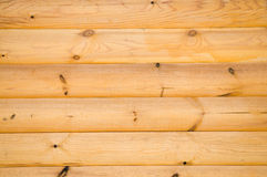 Pine balk wall Royalty Free Stock Photos
