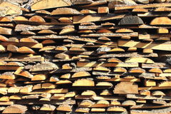 Pine boards Royalty Free Stock Photography