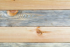 Pine boards different textures fit tightly. Located along the frame Stock Photos