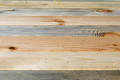 Pine boards different textures fit tightly. Located along the frame. Seen of wood bark Stock Images