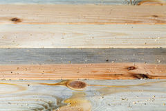 Pine boards different textures fit tightly. Located along the frame. Seen of wood bark Royalty Free Stock Image
