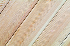 Pine boards different textures fit tightly. Located diagonally across the frame Stock Photos