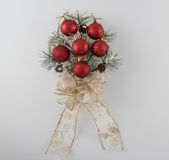 Pine Bough Christmas Decoration Royalty Free Stock Images