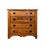 Pine Chest of Drawers Stock Photography