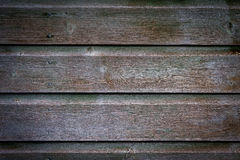 Pine cladding. Detail of pine cladding forming the wall of a garden shed Royalty Free Stock Photography