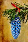 Pine Cone Christmas Ornament Royalty Free Stock Photo
