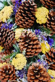 Pine Cone Decoration Stock Photography