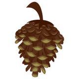 Pine Cone Icon Stock Images