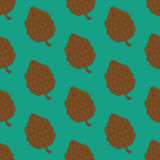 Pine cone pattern Royalty Free Stock Image