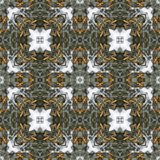 Pine Cone Snow Holiday Seamless Background Pattern Tile Royalty Free Stock Photography