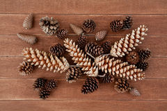 Pine Cones Decorations Royalty Free Stock Photo