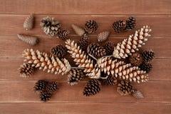 Pine Cones Decorations Royalty Free Stock Photo