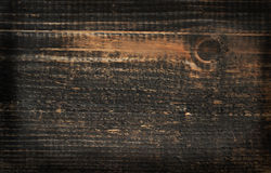 Pine dark colored wood background Stock Photography