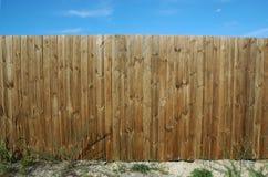 Pine fence Royalty Free Stock Photos