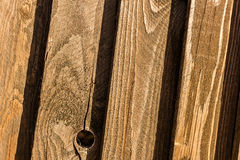 Pine fence texture Royalty Free Stock Photo
