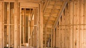 Pine Framing Stock Photo