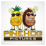 Pine Hog Pictures Stock Image