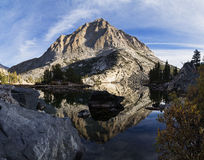 Pine Lake Mountain Reflection Royalty Free Stock Image