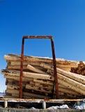 Pine logs Stock Photography