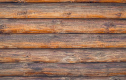 Pine logs. Texture of wooden planks Royalty Free Stock Images