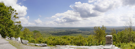 Pine Mountain Georgia panoramic view at FDR state park Royalty Free Stock Image