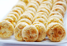 Pine nut macaroons Royalty Free Stock Photography