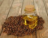 Pine nut oil Stock Photos