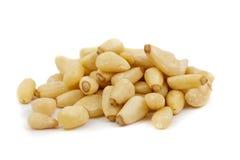 Pine nuts Stock Image