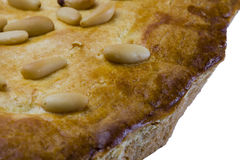 Pine Nuts Cake Macro Royalty Free Stock Photo