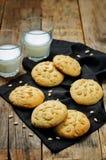 Pine nuts cookies. Italian cuisine Royalty Free Stock Photos